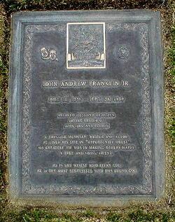 John Andrew Franklin, Jr