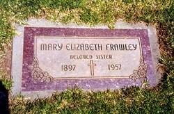 Mary Elizabeth Frawley