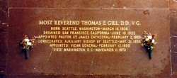 Rev Thomas Edward Gill