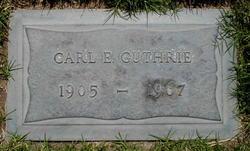 Carl E. Guthrie