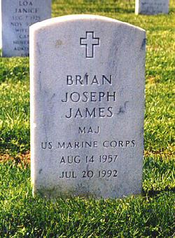 MAJ Brian Joseph James