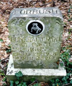 """General Grant of R.K.O. """"Jiggs"""" Forbush"""