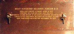 Bishop Aegidius Junger