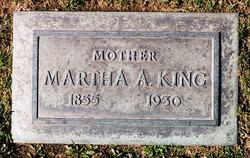 Martha Alicia <I>Porter</I> King