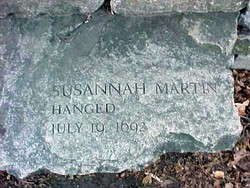 Susannah <I>North</I> Martin