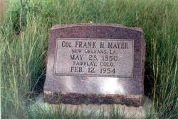 Frank H Mayer