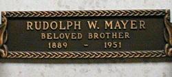 Rudolph W. Mayer