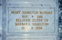 Mary Hamilton McInnis
