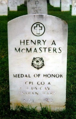 Henry A McMasters