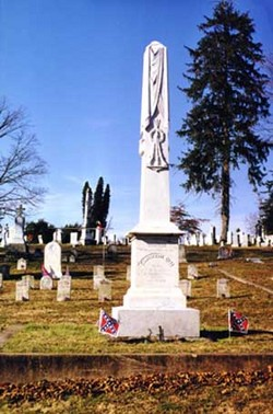 Memorials to the Confederate Dead