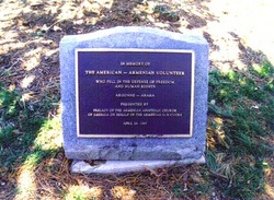 Memorial to the American-Armenian Volunteers