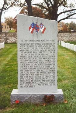 Memorial to the Confederate Dead, 1861-1865