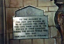 Number 37 Fire Force Memorial