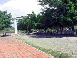 Monument to the victims of the 20,000 Armero dead