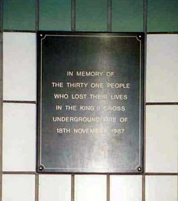 King's Cross Fire Victims