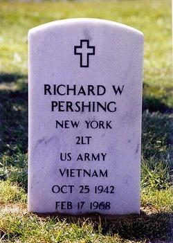 2LT Richard Warren Pershing