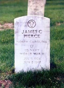 Lieut James Cecil Pierce
