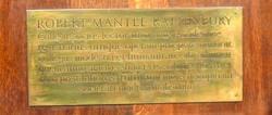 Robert Mantle Rattenbury