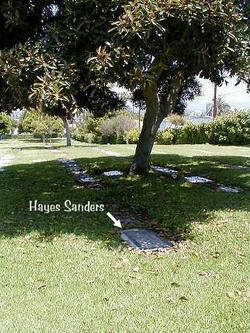 "Hayes Edward ""Big Ed"" Sanders"