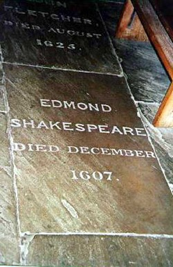 Edmond Shakespeare