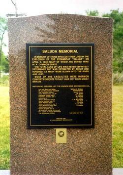 Steamboat Saluda Memorial