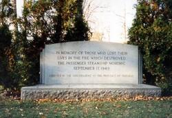 Steamship Noronic Memorial