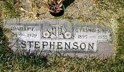 Frances M. <I>Wiley</I> Stephenson