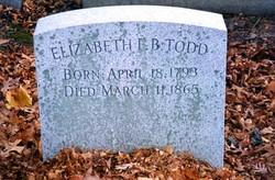 Elizabeth F. B. <I>Smith</I> Todd