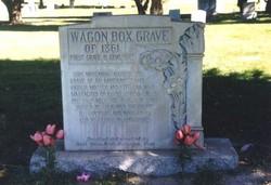 Wagon Box Grave