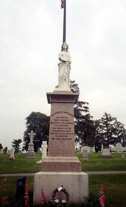 Washington Confederate Cemetery Monument