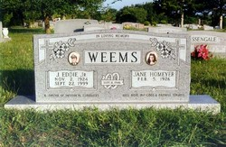 J. Eddie Weems, Jr