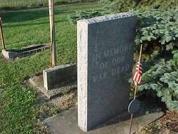 Wingate, Indiana War Dead Memorial