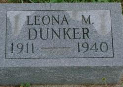 Leona M Dunker