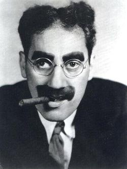 Groucho Marx eyebrow