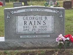 Georgie Benjamin Rains