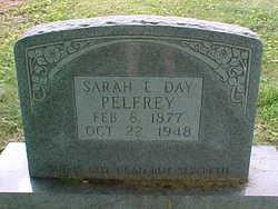 Sarah E <I>Day</I> Pelfrey