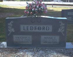 Minnie C. <I>Voyles</I> Ledford