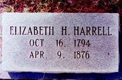 Elizabeth <I>Holt</I> Harrell