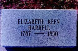 Elizabeth <I>Keen</I> Harrell
