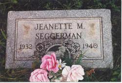 Jeanette M. Seggerman