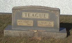 Mary Arizona <I>Burns</I> Teague