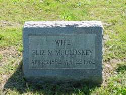 Elizabeth M. <I>Hallowell</I> McCloskey