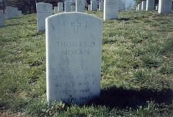 Sgt Thomas D Moran