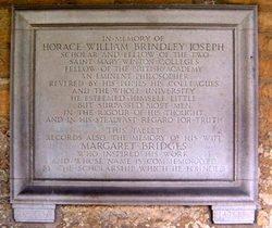 Horace William Brindley Joseph