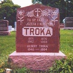 Clara Eva <I>Szulta</I> Troka