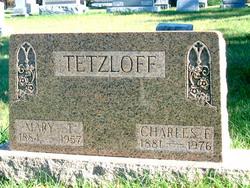 "Charles Ernest ""Karl"" Tetzloff"
