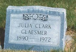 Julia M <I>Forbes</I> Clark Glaesmer