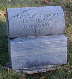 "Elizabeth Gertrude ""Lizzie"" <I>Stock</I> Hill"
