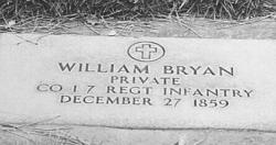 Pvt William Bryan