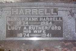 Lucy Adeline <I>Rutherford</I> Harrell